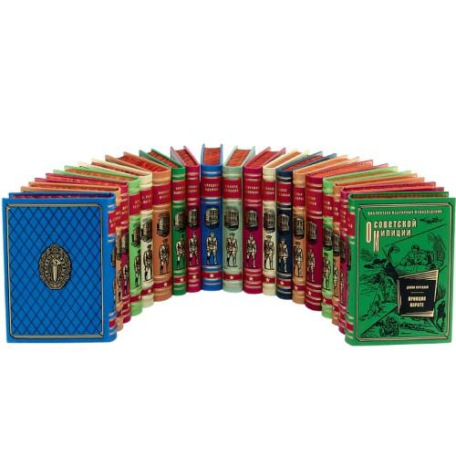 Библиотека лучших произведений о советской милиции - 19 томов. Букинистическое издание (1987-1994 гг.)
