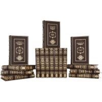 Библиотека «Великие правители» в цельнокожаном переплете с тиснением золотой фольгой