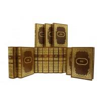 Издание «Библиотека зарубежной классики» в 100 томах, в кожаном переплете ручной работы