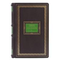 Коллекционное издание в 7 томах «Собрание сочинений Н.В. Гоголя» в кожаном переплете