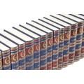 Подарочное издание в 100 томах «Библиотека Русской классики» в переплетном материале balacron 3