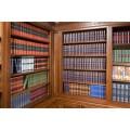 Подарочное издание в 100 томах «Библиотека Русской классики» в переплетном материале balacron 4
