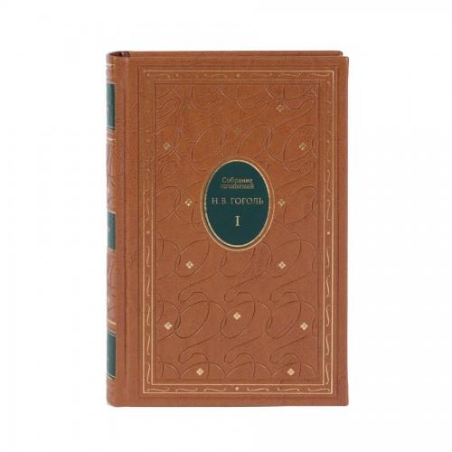 Гоголь Н. В.. Подарочное издание в 7 томах «Собрание сочинений Н.В. Гоголя» в переплетном материале viradakota