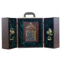 "Подарочный набор Омар Хайям ""Рубайят"" с бокалами."