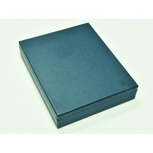 Подарочный набор «Классик»: ежедневник из кожзама, металлическая ручка в футляре, подарочная коробка