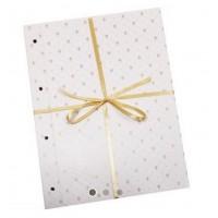 Листы для записей и фотографий - Блок с двойными листами для фотографий, 10 шт